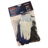 Velgbeschermerset - Handschoenen, kunsstofclips en kniematje_