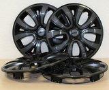 Set van 4 wieldoppen Farad 15 inch donkergrijs topkwaliteit_