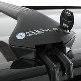 Modula dakdragers Mercedes GLC 5 deurs SUV vanaf 2015 met geintegreerde dakrails_