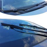 Ruitenwisser 1 + 1 GRATIS Mercedes Citan (haaksluiting, met achterklep) vanaf 07/2012  - bijrijderszijde_