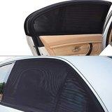 Auto zonneschermen - zonwering achterportieren  past altijd 100% dekkend_