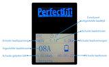 Perfectfit laadpaal 5.5 tot 11 kW met display, 5m kabel en kabelhouder_