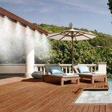 Terraskoeling programmeerbare koele waterverneveling op uw eigen terras kleur wit_