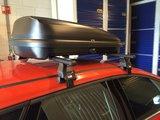 Dakkoffer 320 liter Mat zwart PerfectFit Travelbox_