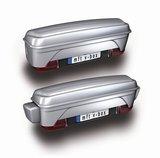 Bagagebox op trekhaak MFT Backbox zilver/grijs_