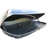 Farad N6- 480 Liter Dakkoffer skibox hoogglans zwart_
