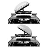 Dakkoffer Hapro Traxer 8.6 Zilver grijs 530L_