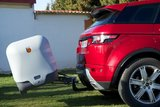 Towbox V2 Grijs trekhaak bagagebox 390 liter_