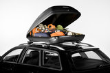 Dakkoffer Hapro Rider 4.4 370 Liter zwart_