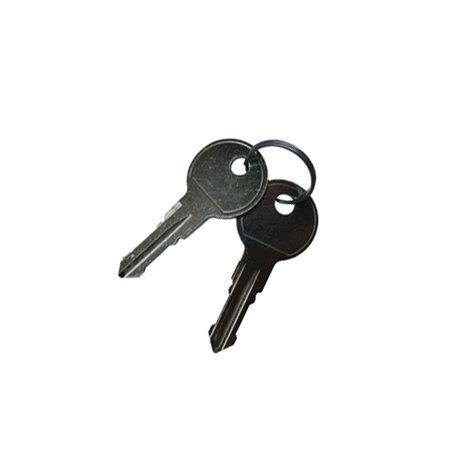 Set sleutels Aguri sleutelnummer 025 (2st)