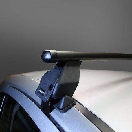 Dakdragers Peugeot 206 Plus 5 deurs hatchback 2009 t/m 2012