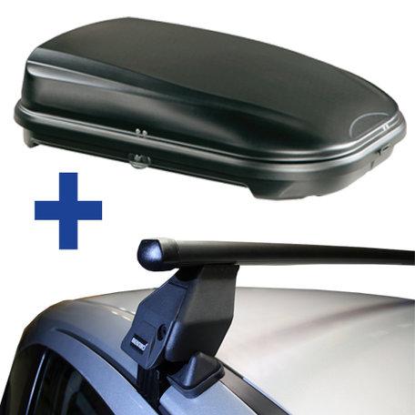 Dakdragers + Dakkoffer Honda Jazz / Fit II 5 deurs hatchback 2007 t/m 2013