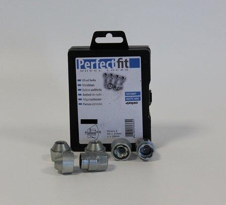 Wielslot / Velgslot speciaal voor Hyundai i10  vanaf 04/2008-  Complete set