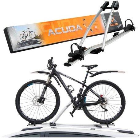Aluminium fietsendrager tbv dakmontage Acuda voor 1 fiets