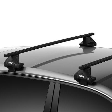 Thule dakdragers Fiat Punto Evo 5 deurs hatchback 2009 t/m 2012