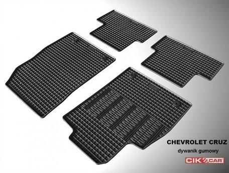Set rubber automatten op maat Chevrolet Cruze vanaf 2008