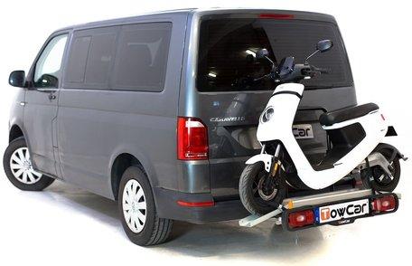 Trekhaakdrager voor scooters en motorfietsen