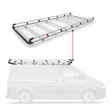Q-Top imperiaal/bagagerek Peugeot Expert / Citroen Jumpy / Toyota ProAce vanaf 2016 / Opel Vivaro (L2-H1 met klep) vanaf 2019