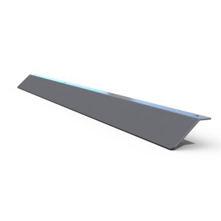 Q-Top Alu-look imperiaalspoiler 1500x40mm