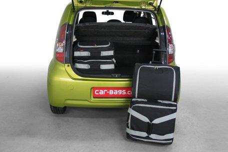 Carbags reistassen set Daihatsu Sirion M3# 2005-2010 5-deurs hatchback