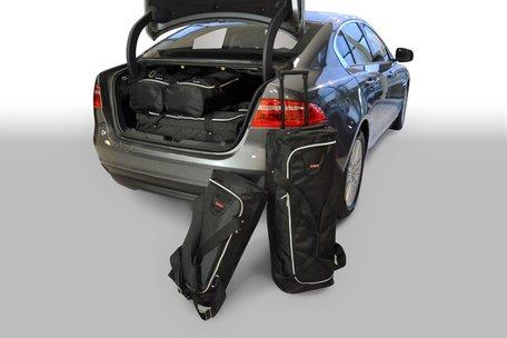 Carbags reistassen set Jaguar XE (X760) 2015-heden 4-deurs sedan