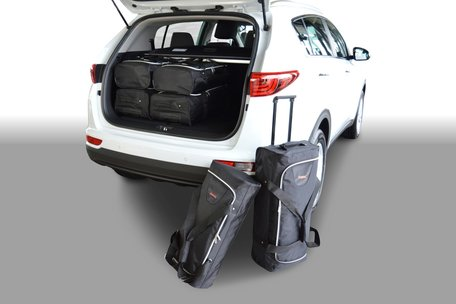 Carbags reistassen set Kia Sportage IV (QL) 2015-heden 5-deurs hatchback