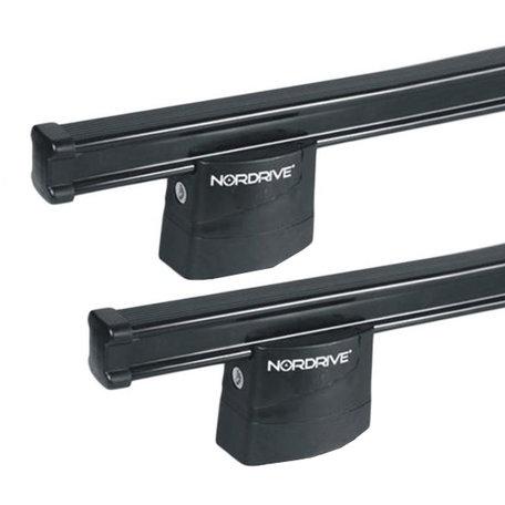 Dakdragers Nordrive Hyundai H1 (boren door dak nodig) vanaf 02/2008 set van 3 staal