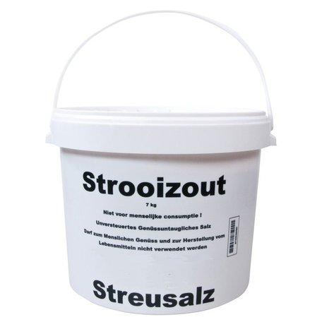 Strooizout emmer 7 kg - snelle levering of ophalen