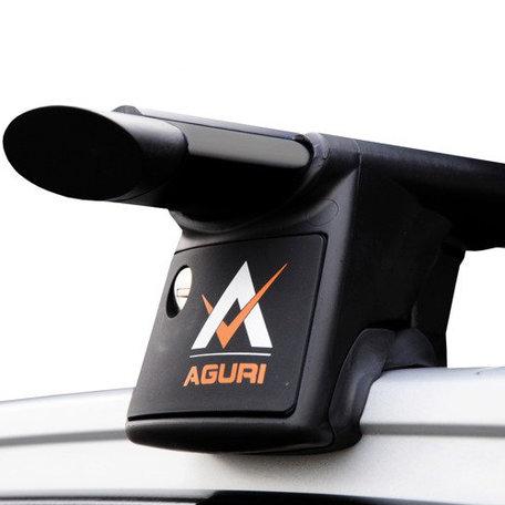 Dakdragers zwart Mitsubishi Outlander mk III SUV vanaf 2012 - Aguri