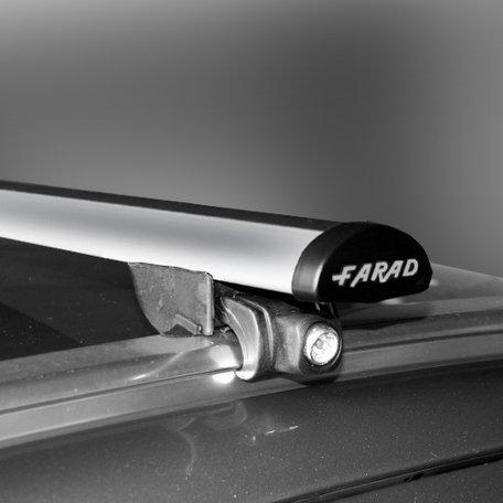 Dakdragers Fiat 500X vanaf 2014 voor geïntegreerde dakrails