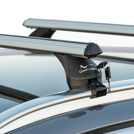 Dakdragers Fiat Panda III 5 deurs hatchback vanaf 2012 - gesloten dakrail