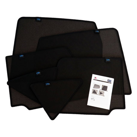 Carshades zonneschermen complete 6-delige set Hyundai Kona  vanaf 42917 originele pasvorm