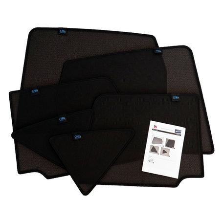 Carshades zonneschermen complete 6-delige set Hyundai Santa Fe  2007 t/m 2012 originele pasvorm