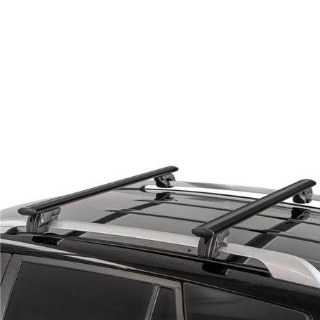 Dakdragers Kia Carens (Un) 5 deurs hatchback 2006 t/m 2013 geschikt voor open dakrail
