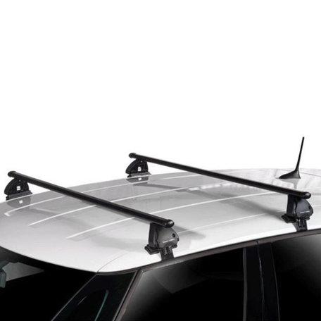 Dakdragers Peugeot 308 5 deurs hatchback vanaf 2013 geschikt voor Glad dak