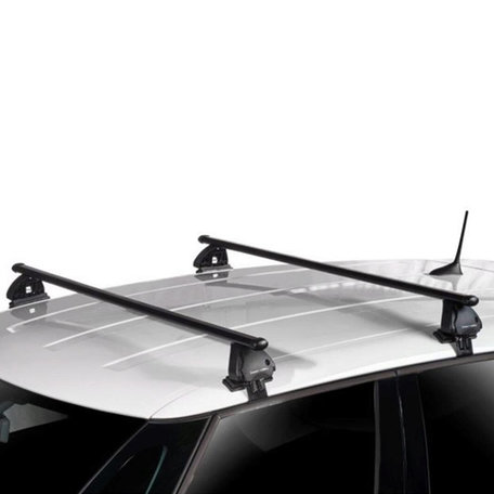 Dakdragers Volkswagen T-Roc (A11) SUV vanaf 2017 geschikt voor Glad dak