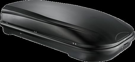 TIP! Dakkoffer / skibox 580 liter mat zwart