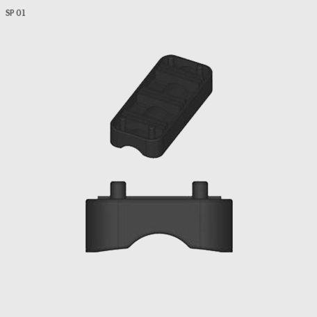 Rubber van voetset Farad BS Kit SP 01
