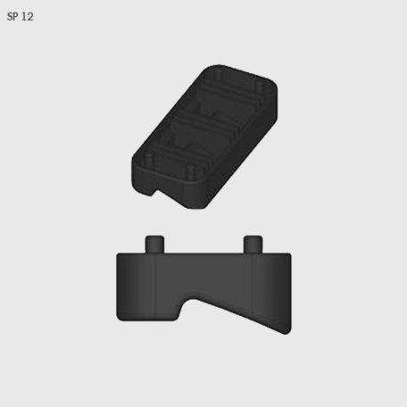 Rubber van voetset Farad BS Kit SP 12