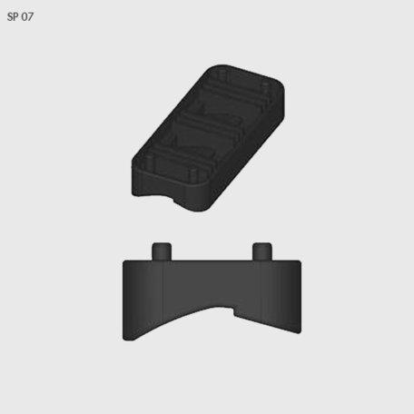 Rubber van voetset Farad BS Kit SP 07