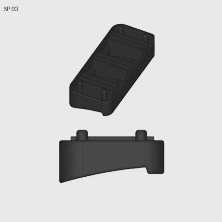 Rubber van voetset Farad BS Kit SP 03