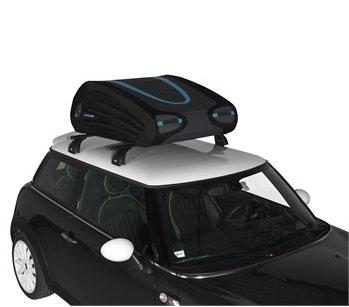 Flexibele / opvouwbare dakkoffer 340 liter met frame en slot !