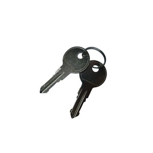 Set sleutels Aguri sleutelnummer 018 (2st)