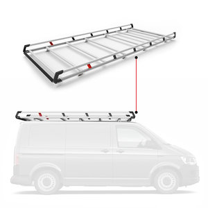 Q-Top imperiaal/bagagerek Mercedes Citan / Renault Kangoo vanaf 2008 / Nissan NV250 (WB2 met deur) vanaf 2019