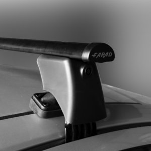 Dakdragers Farad Fiat Cinquecento 3 deurs hatchback 1991 t/m 1998 voor glad dak